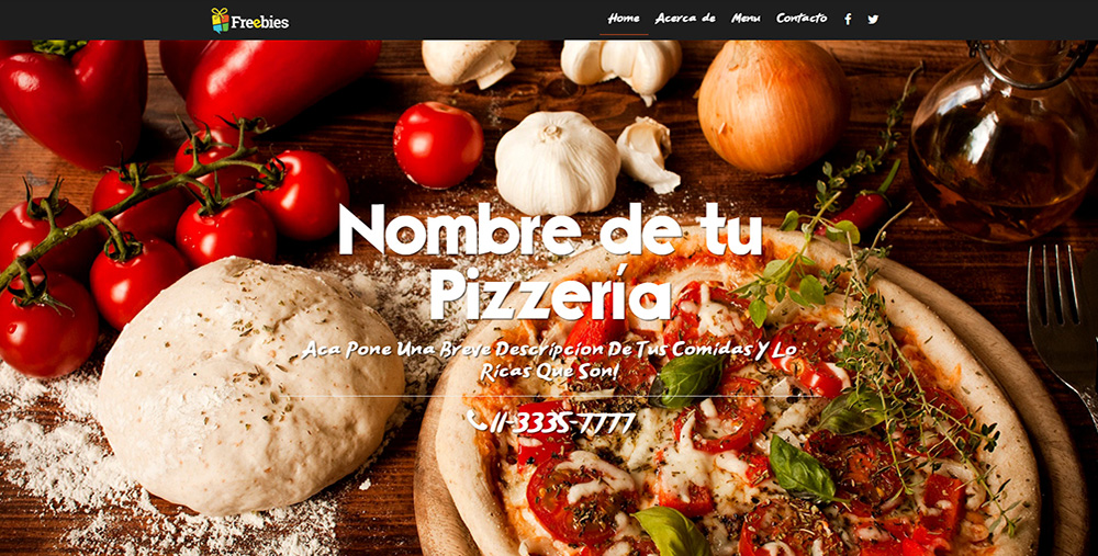 Freebies - Diseño de Paginas Web Gratis